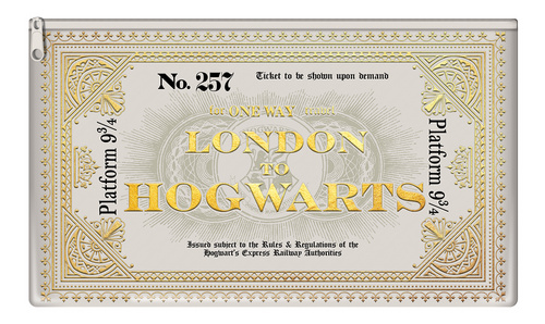 HARRY POTTER (HOGWARTS EXPRESS TICKET) PERESNICA PYRAMID