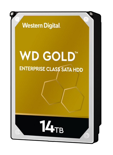 WD trdi disk RE 14TB SATA 3, 6Gbs, 7200rpm, 512MB GOLD