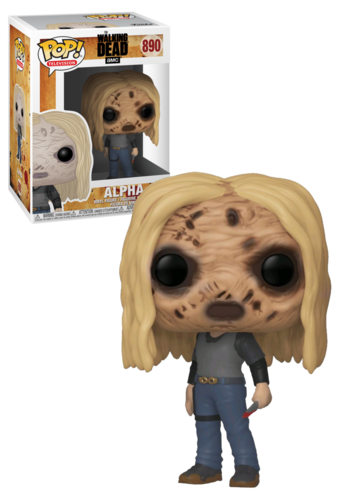 Figura FUNKO POP TV: WALKING DEAD -ALPHA W/MASK