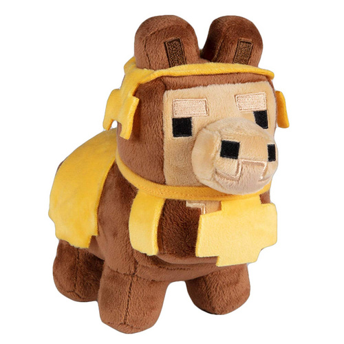 MINECRAFT HAPPY EXPLORER BABY LLAMA BROWN PLIŠ