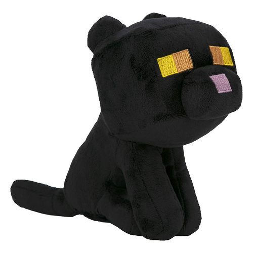 MINECRAFT HAPPY EXPLORER BLACK CAT PLIŠ
