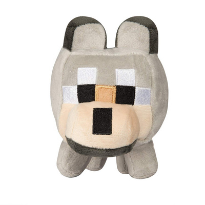 MINECRAFT HAPPY EXPLORER UNTAMED WOLF PLIŠ
