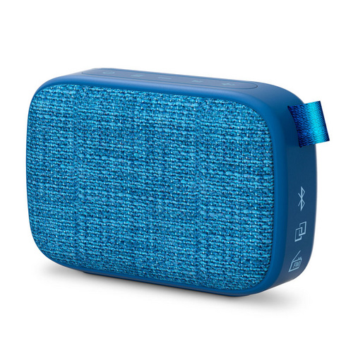 ENERGY SISTEM Fabric Box 1+ Pocket Blueberry 3W Bluetooth/3,5mm microSD MP3 FM radio moder zvočnik