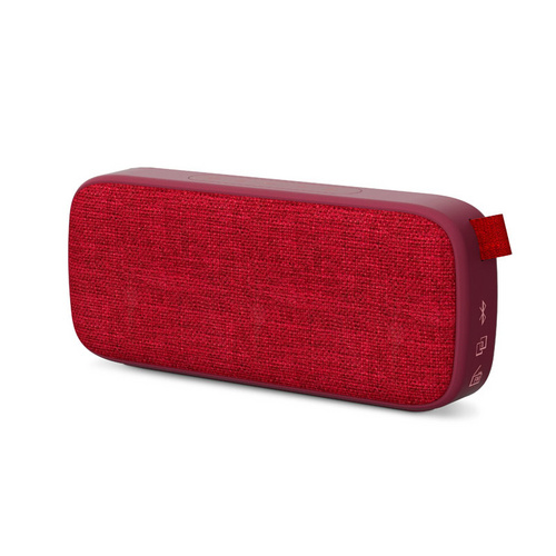 ENERGY SISTEM Fabric Box 3+ Trend Cherry 6W Bluetooth/3,5mm microSD MP3 USB FM radio rdeč zvočnik