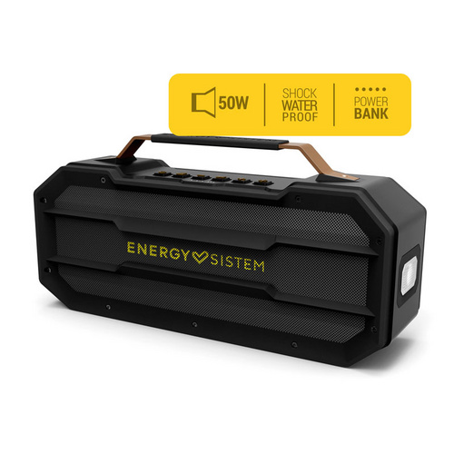 ENERGY SISTEM Outdoor Box Street 50W Bluetooth/3,5mm USB microSD MP3 FM radio črn zvočnik