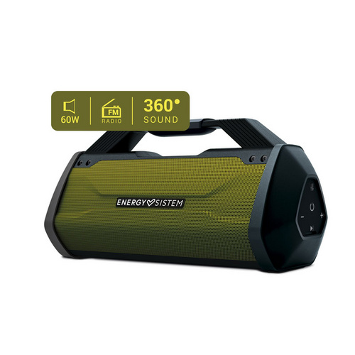 ENERGY SISTEM Outdoor Box Beast 60W Bluetooth/3,5mm USB microSD MP3 FM radio zelen zvočnik