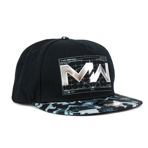 MERCHENDISE CALL OF DUTY MW: LIQUID CHROME SNAPBACK