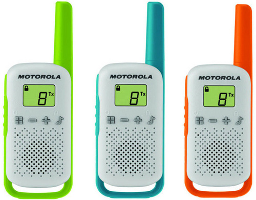Motorola Walkie Talkie T42 Triple