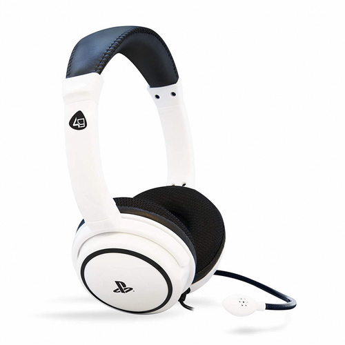 4GAMERS PRO4-40 PS4 STEREO GAMING SLUŠALKE WHITE