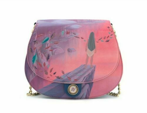 LOUNGEFLY LF DISNEY POCAHONTAS COLORS OF THE WIND TORBA