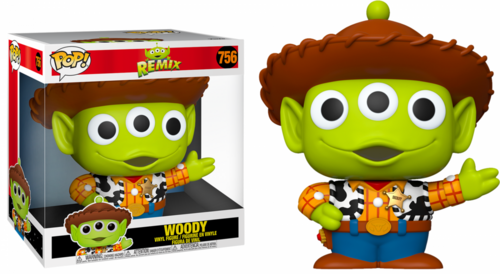 """FUNKO POP DISNEY: PIXAR ALIEN REMIX - 10"""" WOODY"""