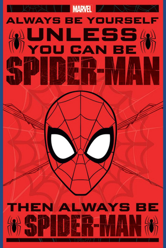 Pyramid SPIDER-MAN (ALWAYS BE YOURSELF) MAXI plakat