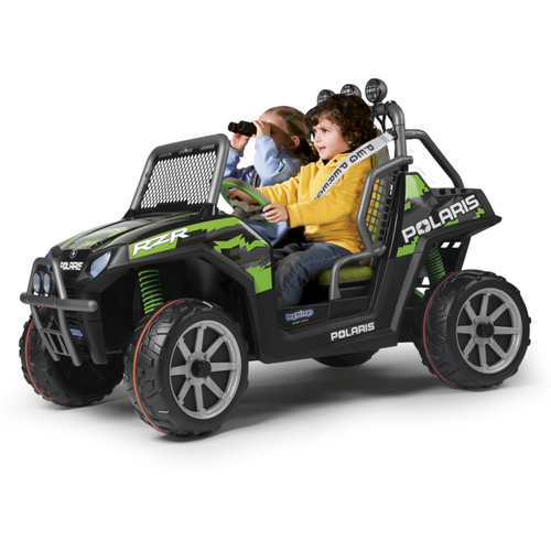 PEG PEREGO Polaris Ranger RZR Green Shadow 24V