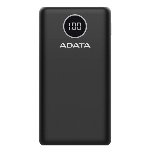 ADATA PowerBank P20000QCD, črna
