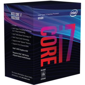 Intel Core i7 8700 BOX Coffee Lake procesor
