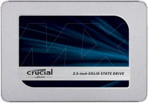 Crucial MX500 SSD 1TB 2.5 disk