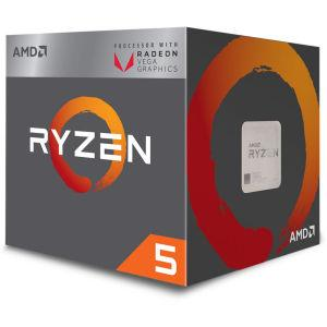 Amd Ryzen 5 2400G 3,6/3,9GHz 4MB AM4 65W Wraith Stealth BOX procesor