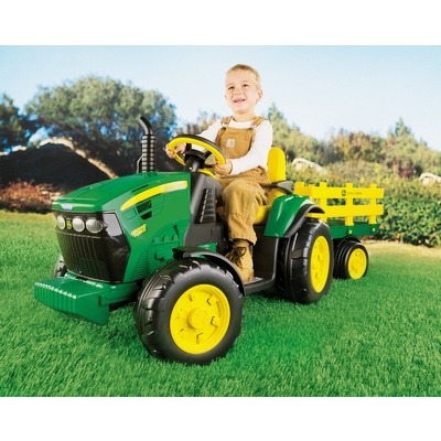 Peg Perego JD Ground Force s prikolico
