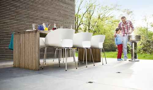 Philips 17074/47/16 MyGarden Timber inox vgradna svetilka