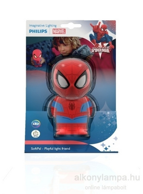 Philips 71768/40/16 softpal baterijska spiderman dark modra