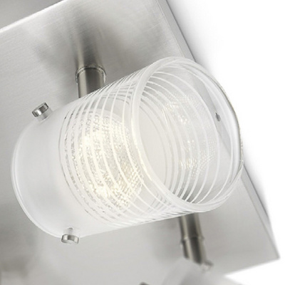 Philips 53269/67/16 toile bela LED četvorni reflektor
