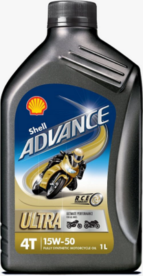 Olje Shell Advance 4T Ultra 15W50 1L