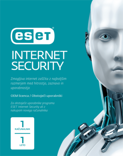 ESET Internet Security - 1 leto OEM