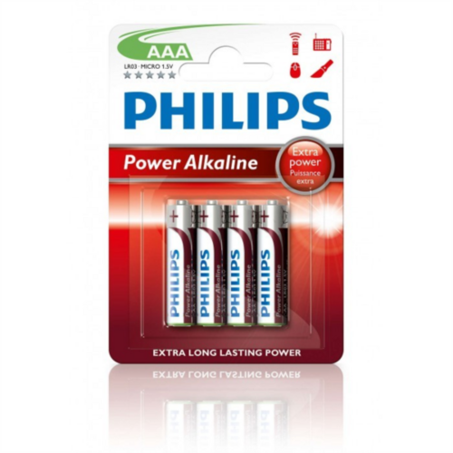 PHILIPS Powerlife LR03P4B/10  baterija