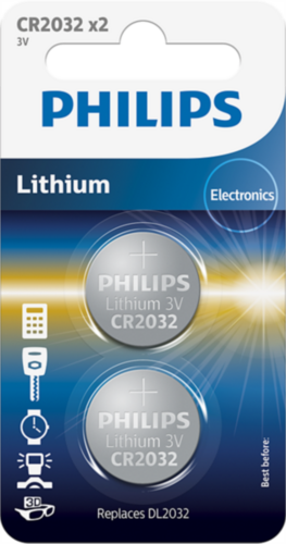 PHILIPS CR2032P2/01B baterija