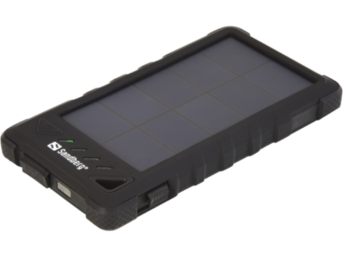 Sandberg Outdoor Solar Powerbank 8.000 mAh črna