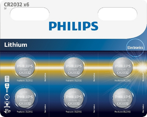 PHILIPS CR2032P6/01B baterija