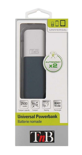 TNB  Powerbank 2.500 mAh
